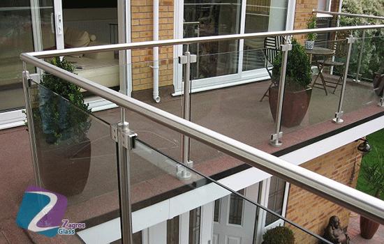 نرده های شیشه ای مدرن