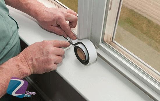 تعمیر شیشه سکوریت