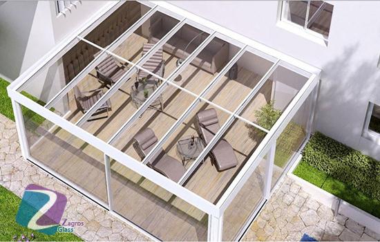 سقف های شیشه ای متحرک