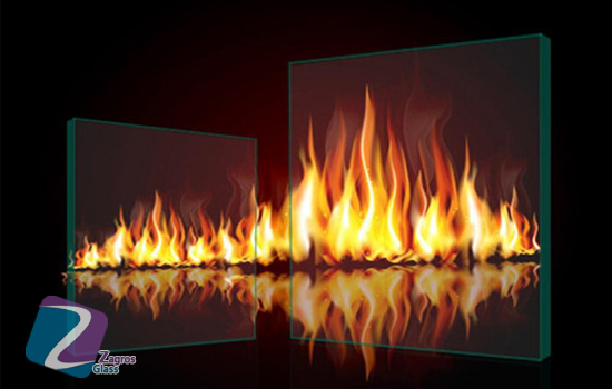 شیشه های ضد آتش