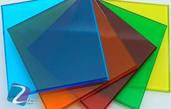 قیمت شیشه رنگی