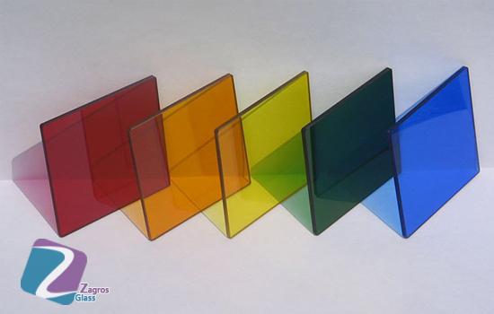 تولید شیشه های رنگی