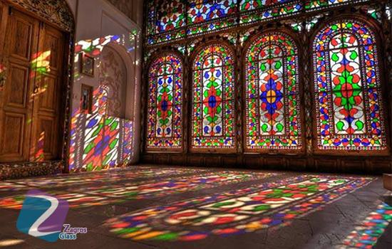 شیشه کاری های ساختمان