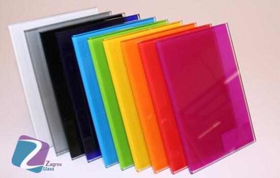 درباره شیشه های رنگی