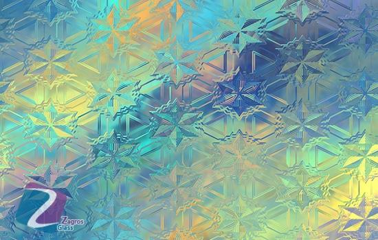 شیشه های مشجر یا طرح دار