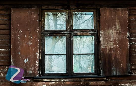 عایق بندی شیشه های قدیمی